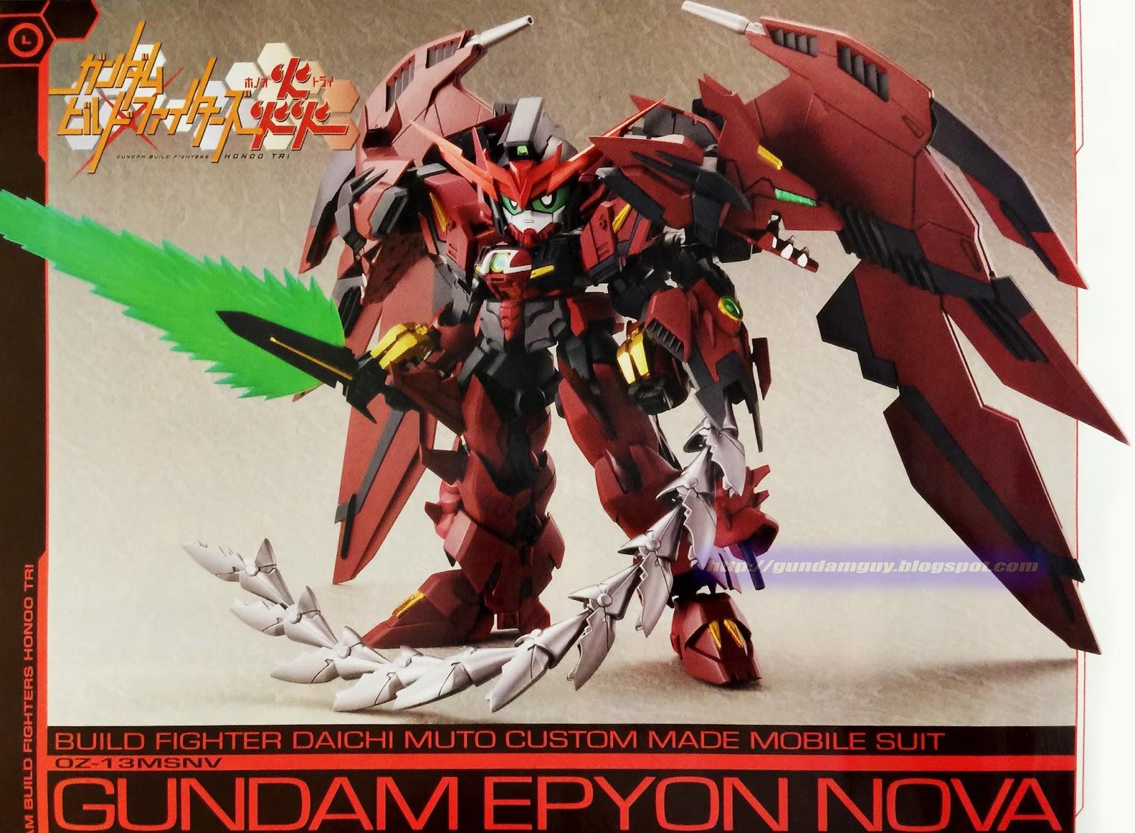 Gundam Guy  Sd Gundam Epyon Nova