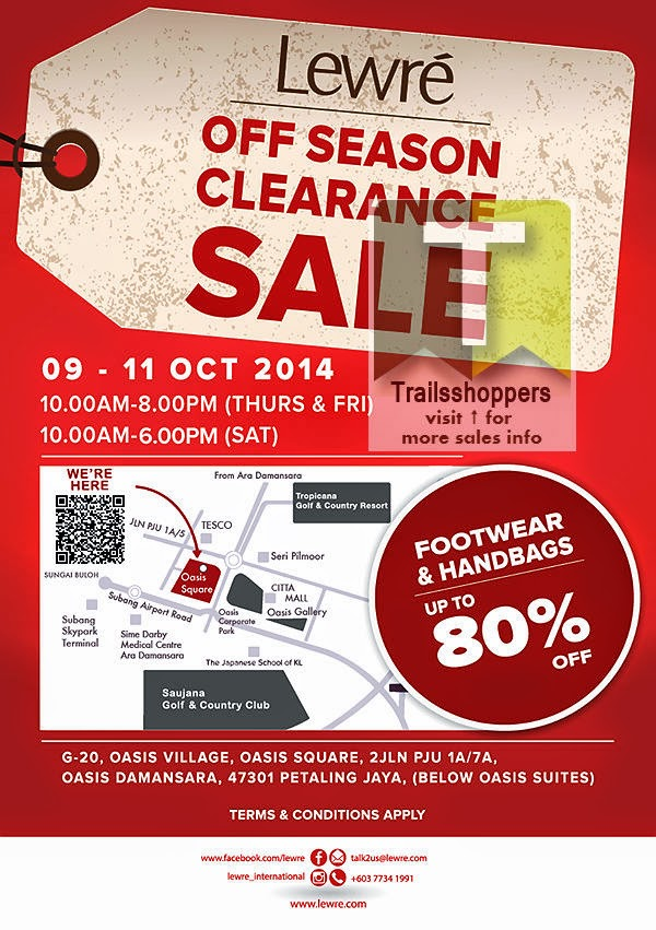 Lewre End Season Clearance Sale Oasis Damansara