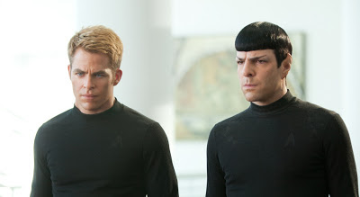 Star Trek Spock Kirk Bromance Chris Pine underwear