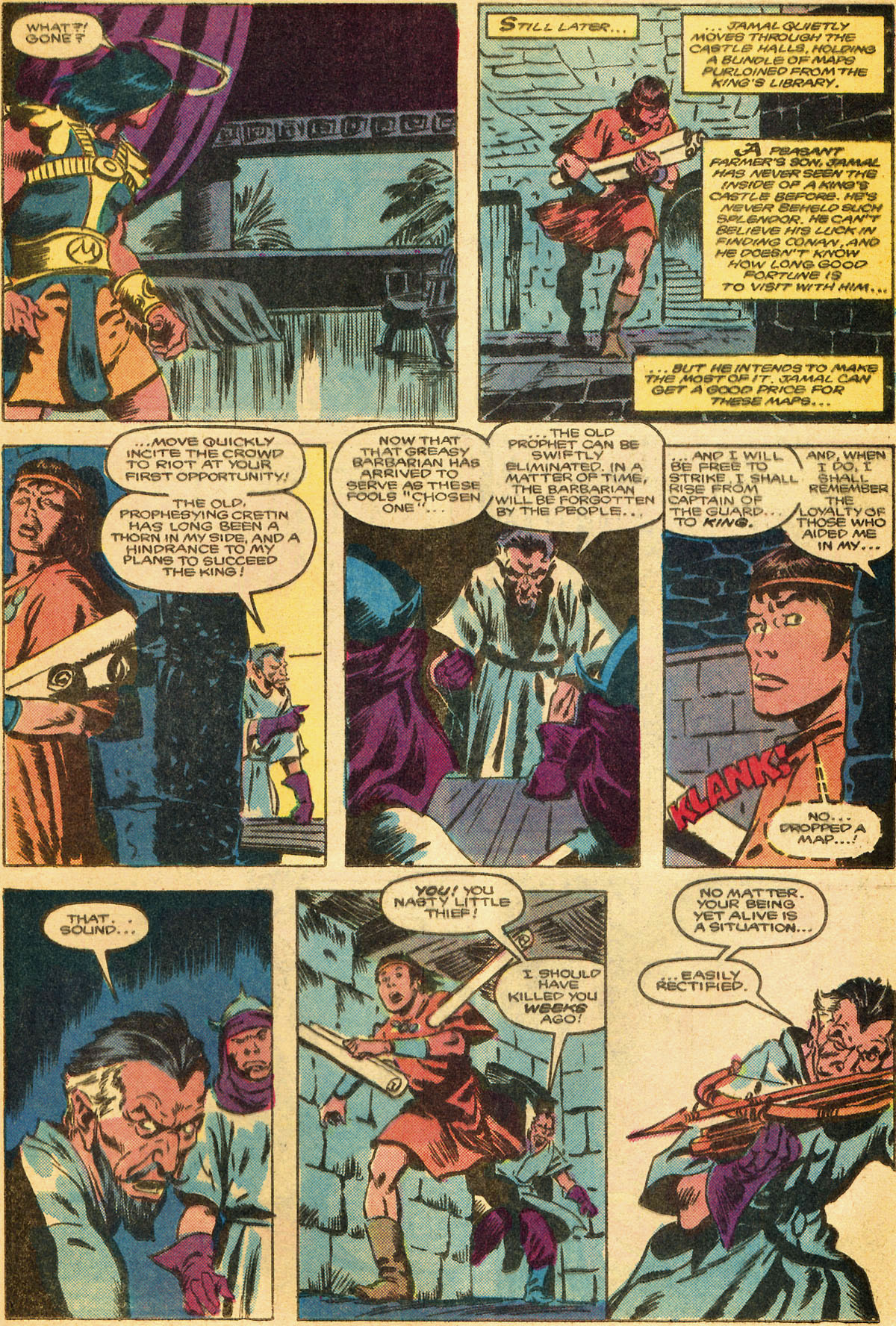 Conan the Barbarian (1970) Issue #179 #191 - English 16