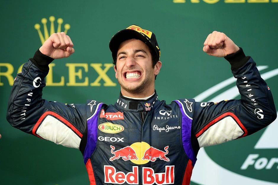 Daniel Ricciardo vence GP da Bélgica