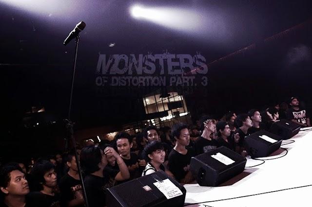 Monsters Of Distortion III : Report Event
