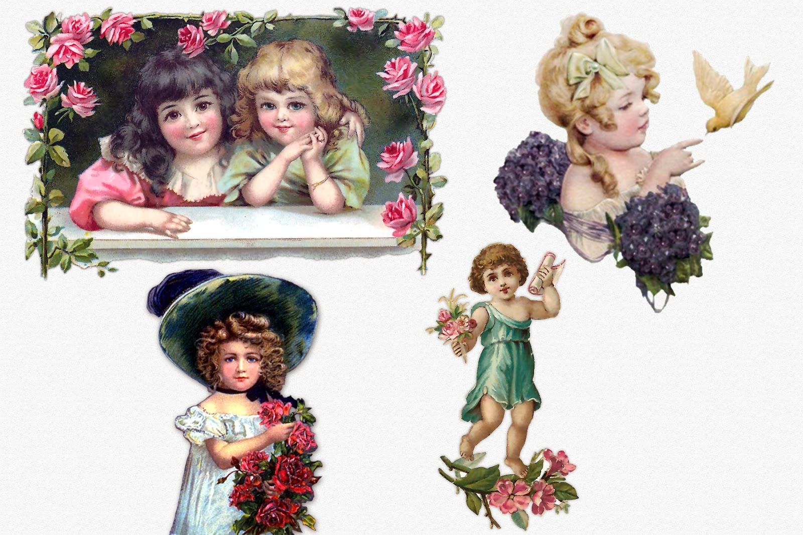 Free image victorian children