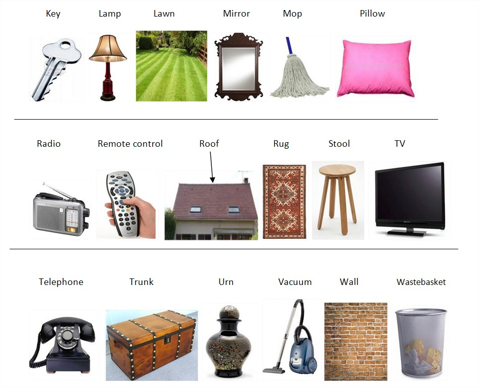 Learn english with pleasure house and furniture vocabulary for Bedroom furniture vocabulary