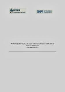 POLITICAS SOCIOEDUCATIVAS