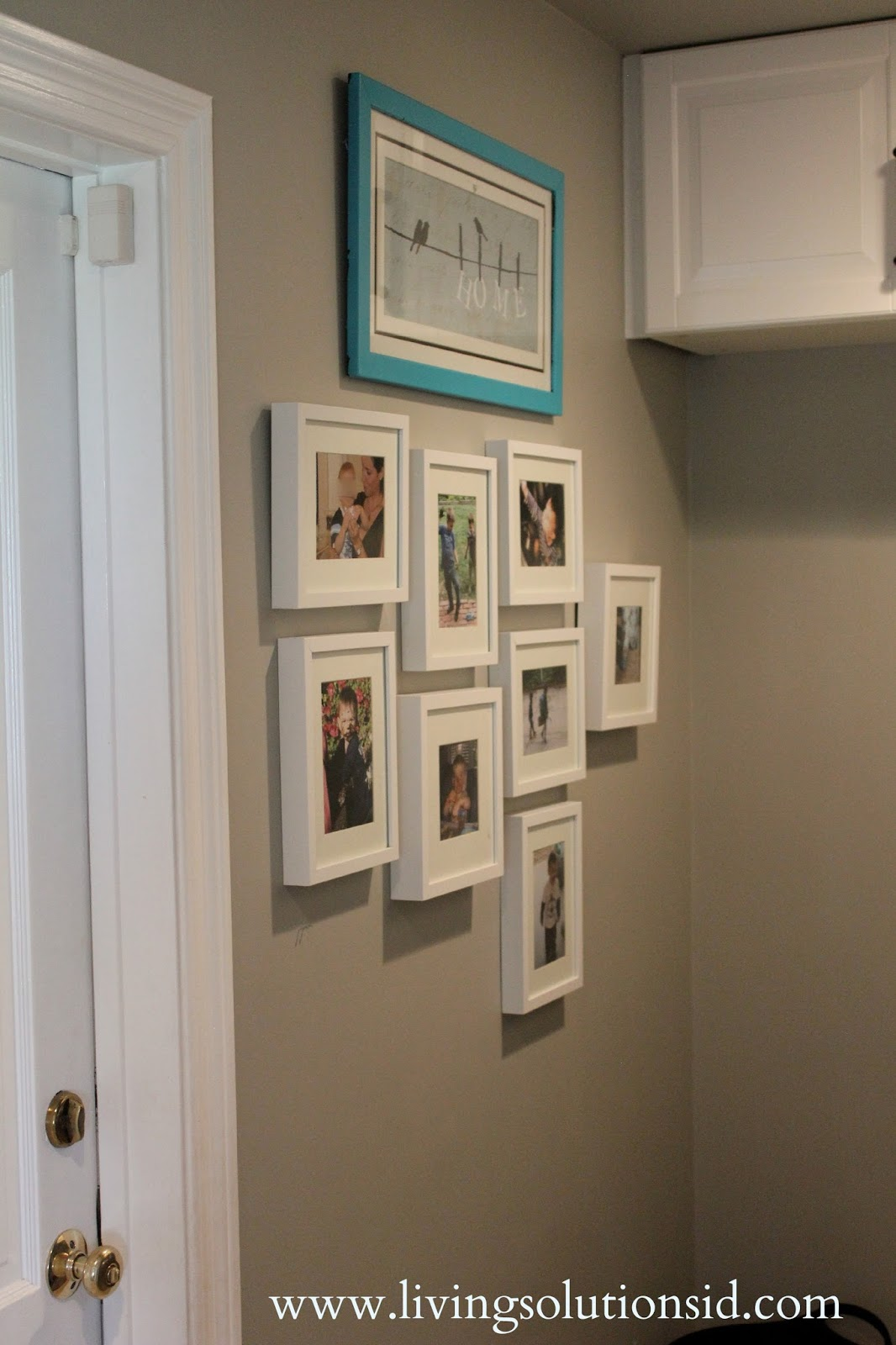 Laundry Room Frames Magnificent Laundry Room Gallery Wall  Living Solutions Blog Decorating Design