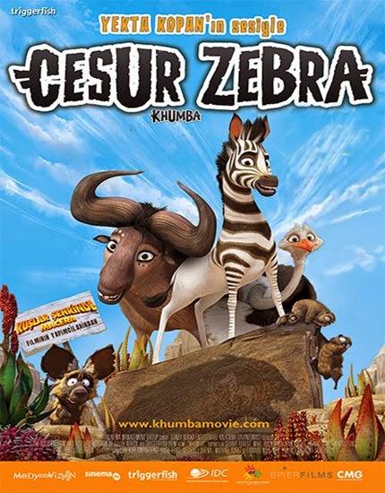 Cesur Zebra - Khumba - Türkçe Dublaj - Tek Link indir