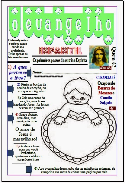 O EVANGELHO INFANTIL