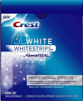 Crest strips pro effects or premium