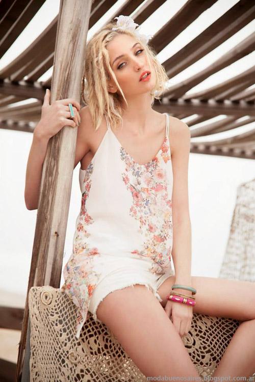 Tops estampadas moda 2014 Sweet colección.