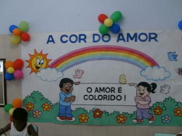 A Cor do Amor...Painel!!!