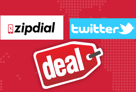zipdial twitter deal
