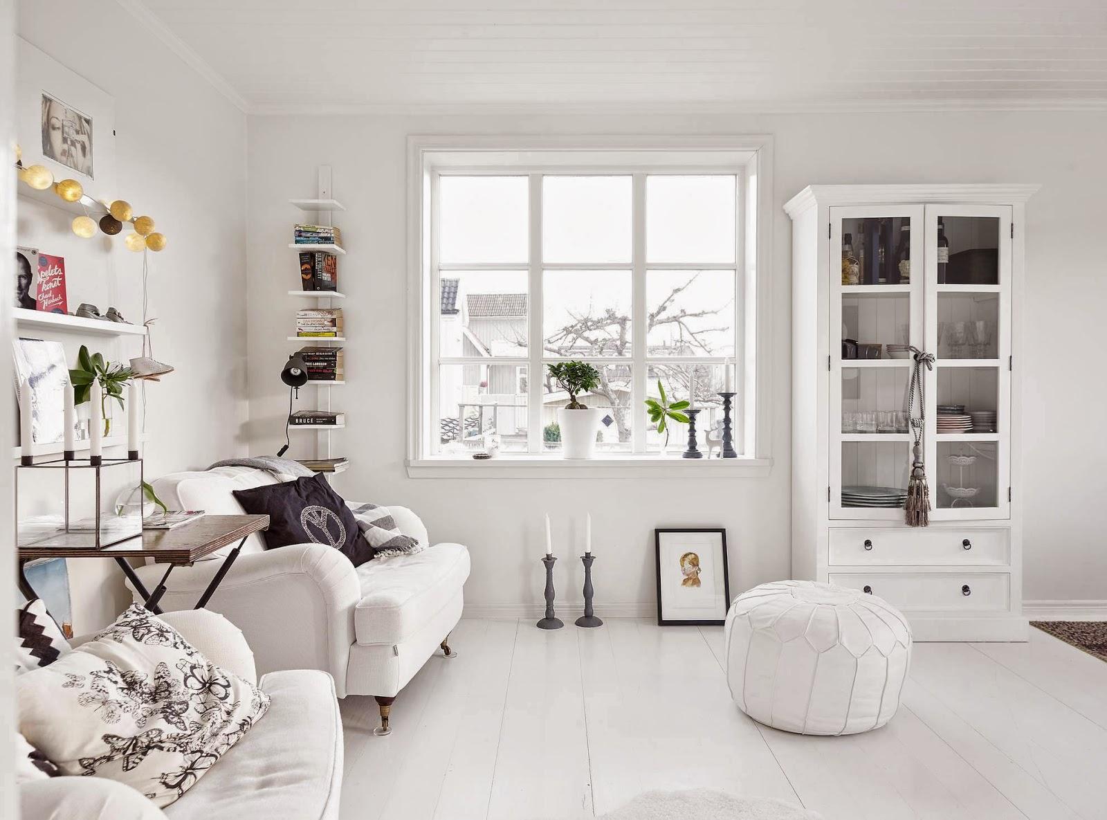 decordemon: Cozy, simple and white Nordic house