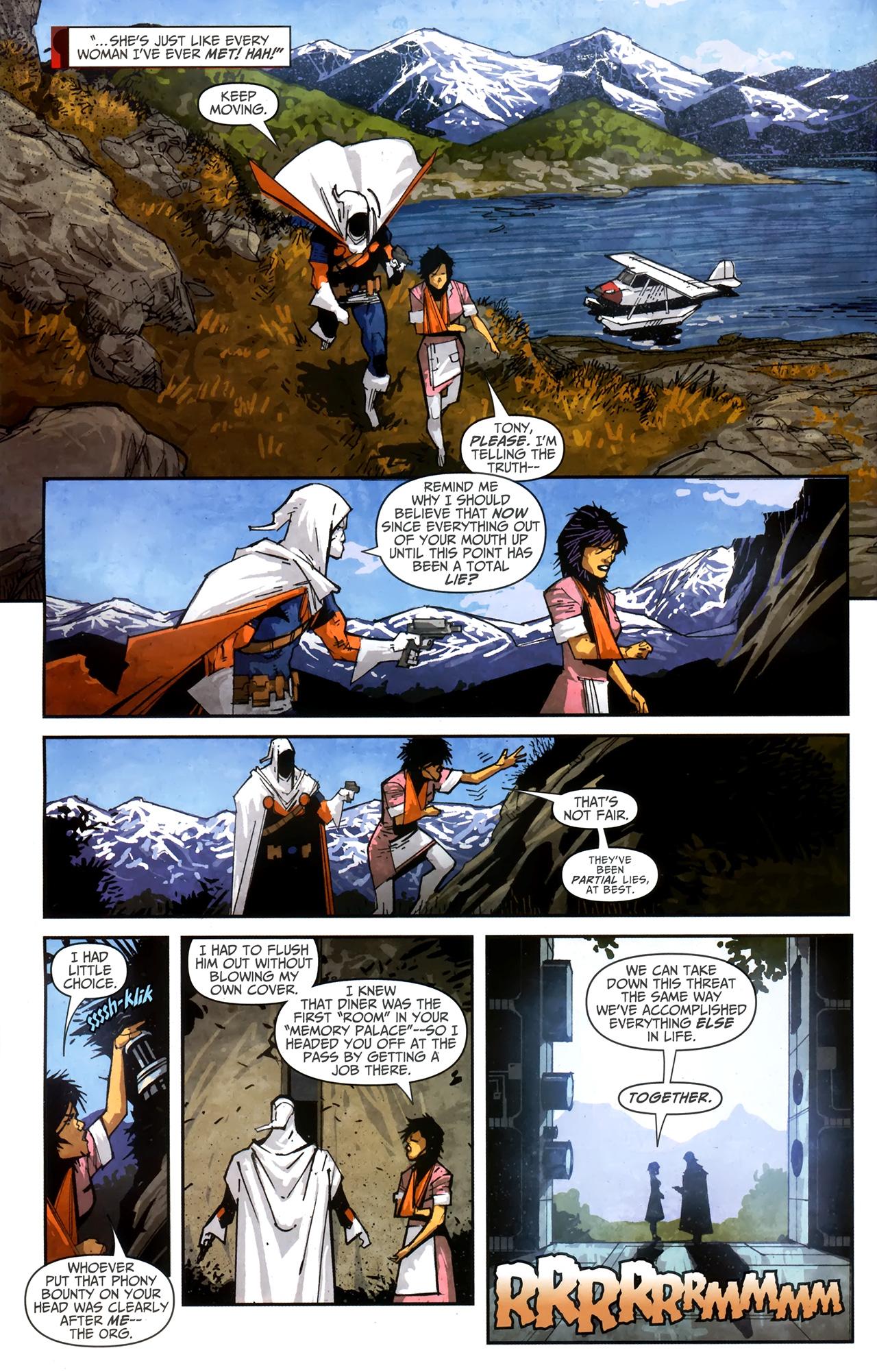 Read online Taskmaster (2010) comic -  Issue #4 - 5