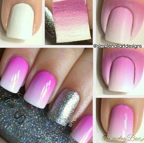 To co przyjemne dla oka for Simple nail art designs to do at home