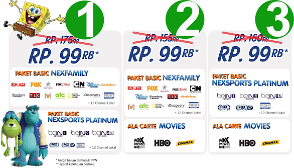 Promo Nexmedia Terbaru Bulan Desember 2014