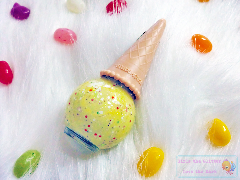 ETUDE HOUSE Sweet Recipe Ice-cream Nails: #2 Lemon Sherbet.