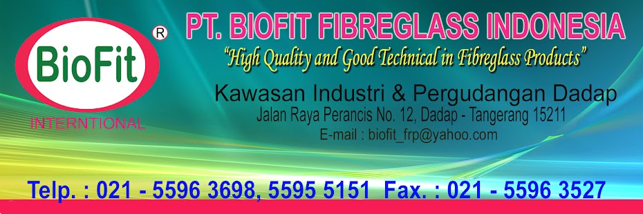 PT. BIOFIT FIBREGLASS INDONESIA = Portable Toilet, Flexible Toilet, Toilet Portable