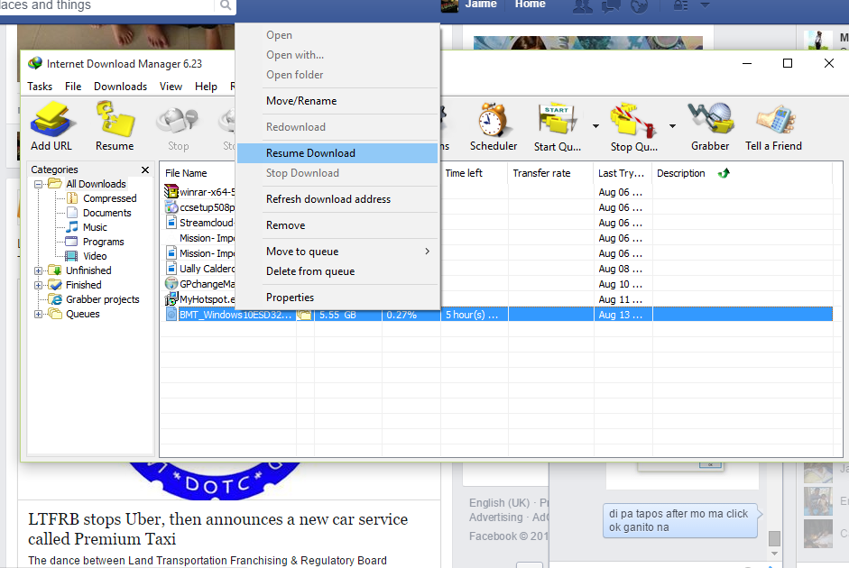 How to Resume Internet Download Manager Expired and Broken Download ...
