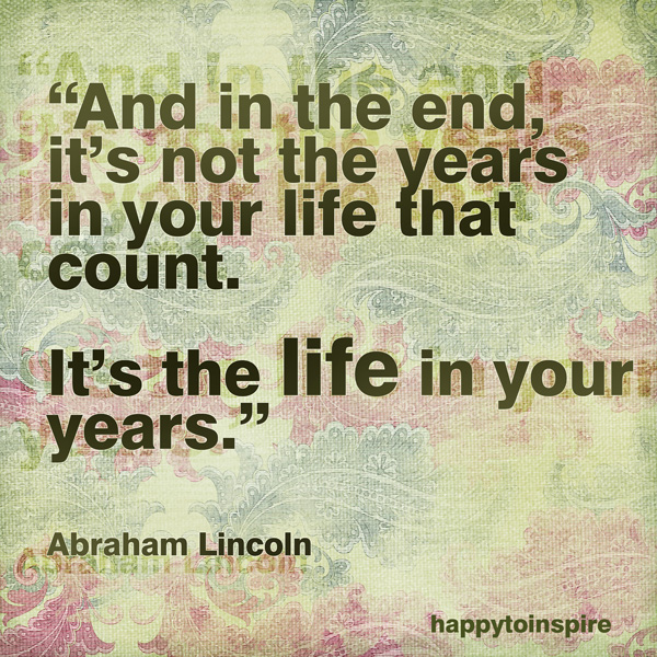 Abraham Lincoln Quotes About Life Quotesgram