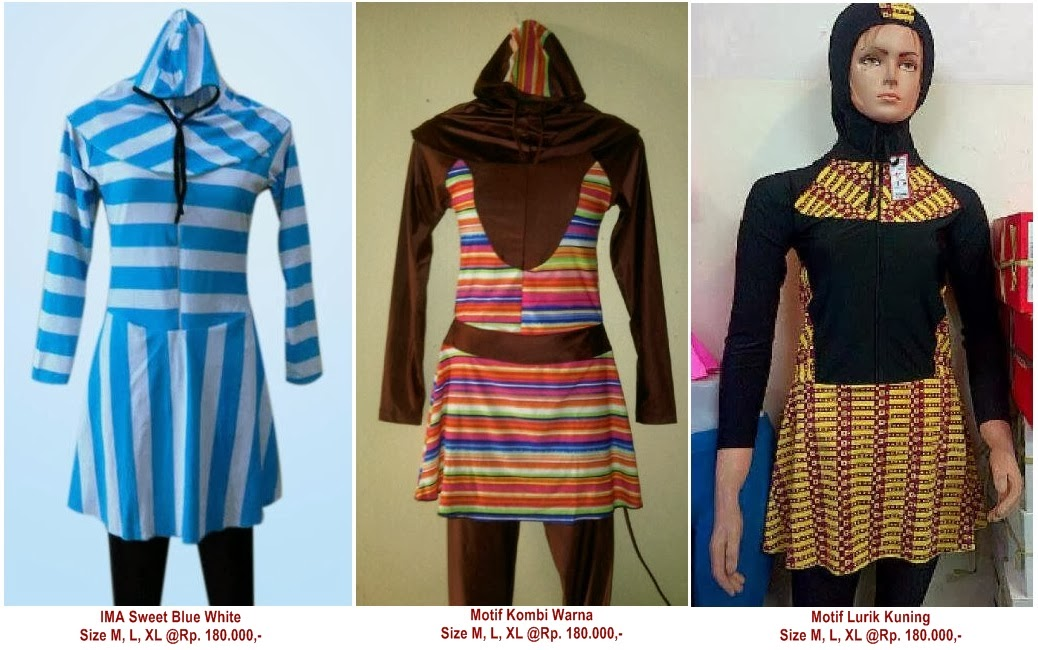 Baju Renang Dewasa Muslimah Online Mall Aksesoris Indonesia
