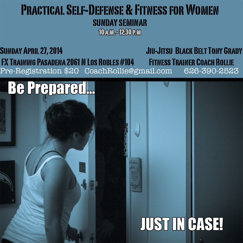 Self Defense Training Pasadena