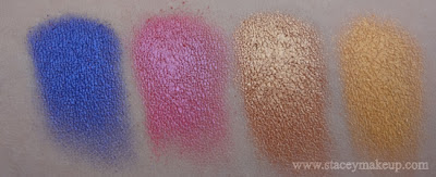 42 eyeshadows/blushes shimmer palette