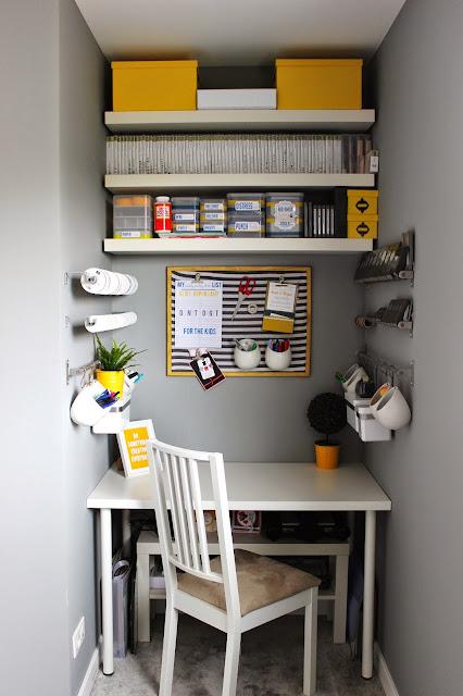 craft room corner reveal