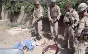 video de marines al orinar sobre afganos ejecutados