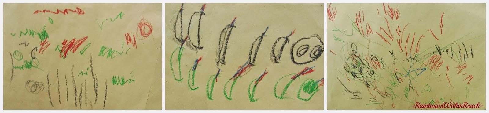 AUTHENTIC Children's Art: Response to Eric Carle via RainbowsWithinReach