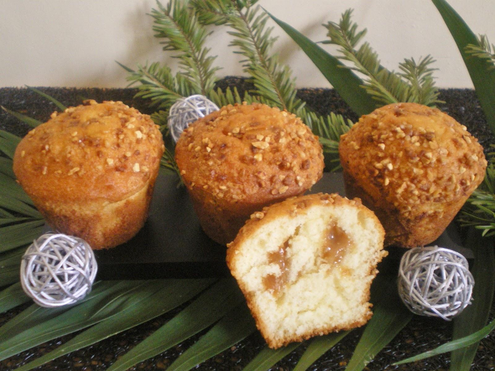 Incroyable Recette Caramel Beurre Salé Cyril Lignac les mets tissÉs: cuisine d'ici et d'ailleurs: muffins caramel beurre