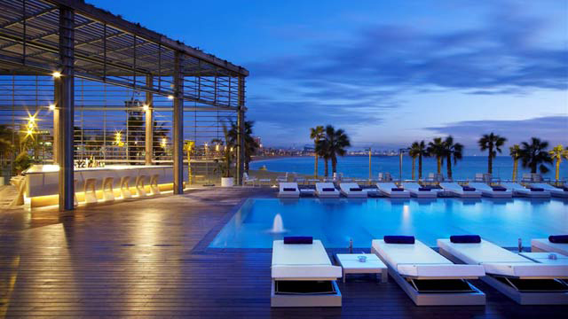 Turismo desde espa a turismo en espa a hotel w for Hotel w barcelona restaurante