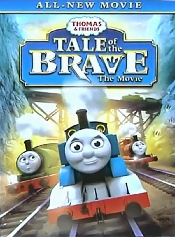 Thomas & Friends: Tale of the Brave (2014) Poster