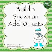 http://www.teacherspayteachers.com/Product/Build-a-Snowman-Addition-Facts-Add-10-1000018
