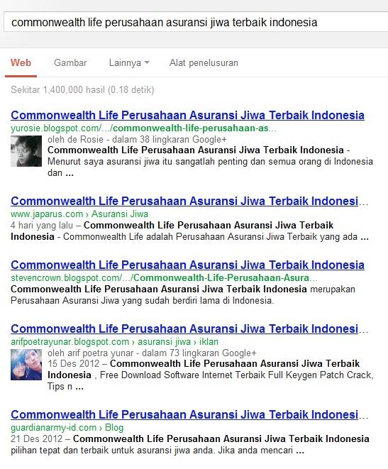 artikel Commonwealth Life Perusahaan Asuransi Jiwa Terbaik Indonesia ...