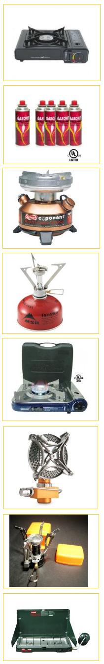 Butane stoves