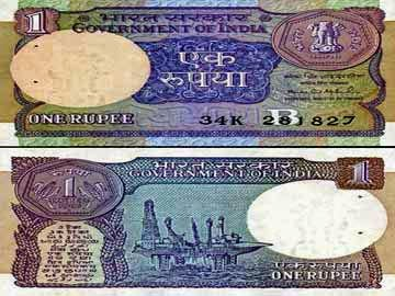 Indian Rupee Currency New One Rupee Note Coming Back