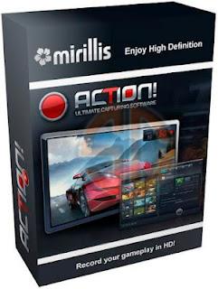 Download Mirillis Action! v1.12.1, Mirillis Action, gravar área de trabalho, programa para gravar desktop
