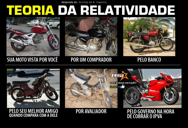 Teoria Da Relatividade Dicas De Mecânica De Motos Mecânica Moto Show