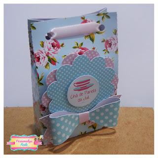 lembrancinha chá de panela sacolinha