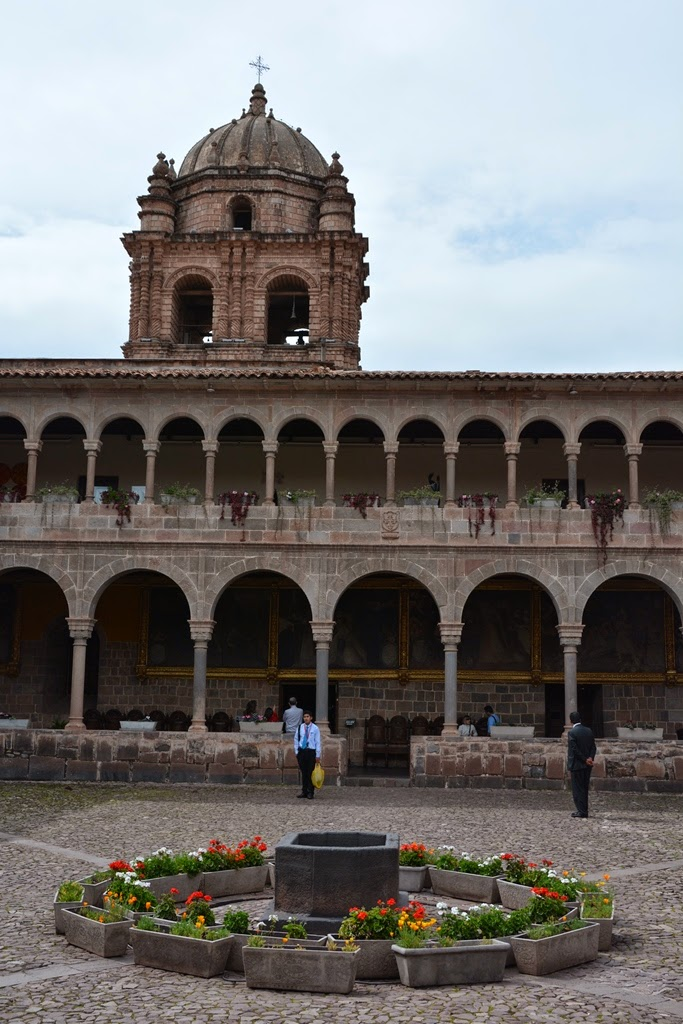 Qorinchanka Monastery Cusco tower