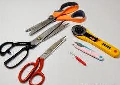 tips memotong kain