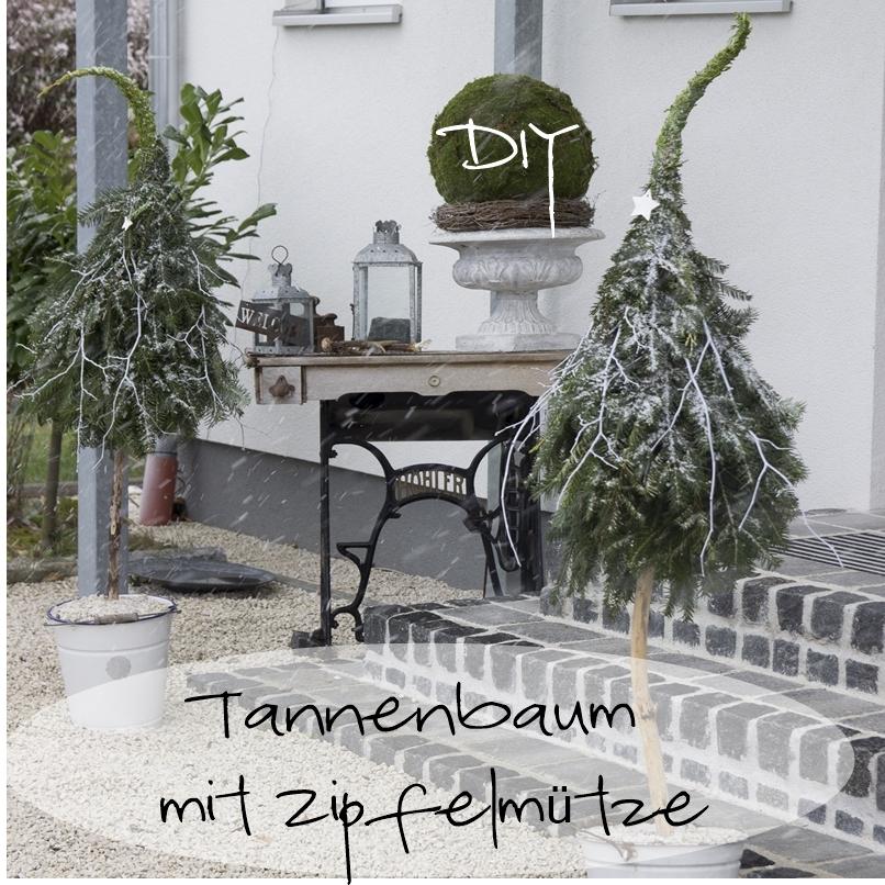 diy tannenbaum mit zipfelm tze creativlive. Black Bedroom Furniture Sets. Home Design Ideas