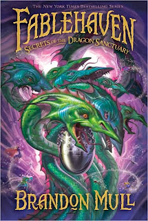 Secrets of the Dragon Sanctuary Book Cover