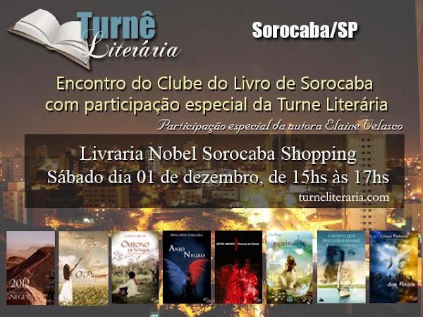 Encontro do Clube do Livro de Sorocaba com participação da Turnê Literária