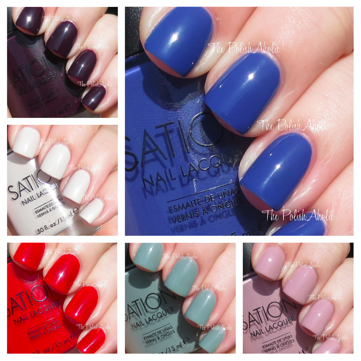 The PolishAholic: Sation Fall 2013 Miss-terranean Collection Swatches