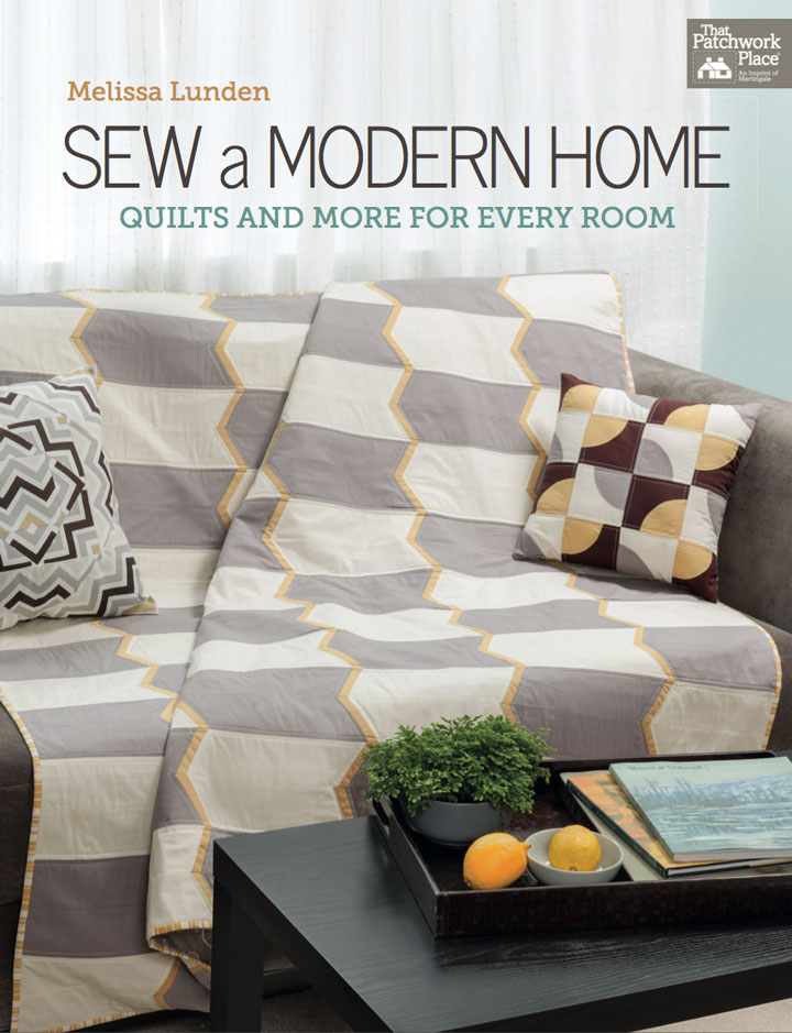 Sew a Modern Home Book Review & Giveaway | VeryShannon.com