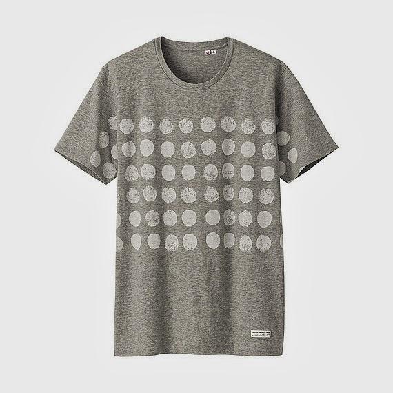 2013夏。京都のテキスタイルブランドSOU・SOUと日本を代表するライフウェアブランド ユニクロがコラボレートしたTシャツのドット