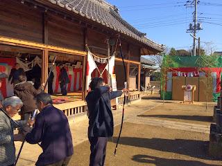 川崎神社のオビシャ