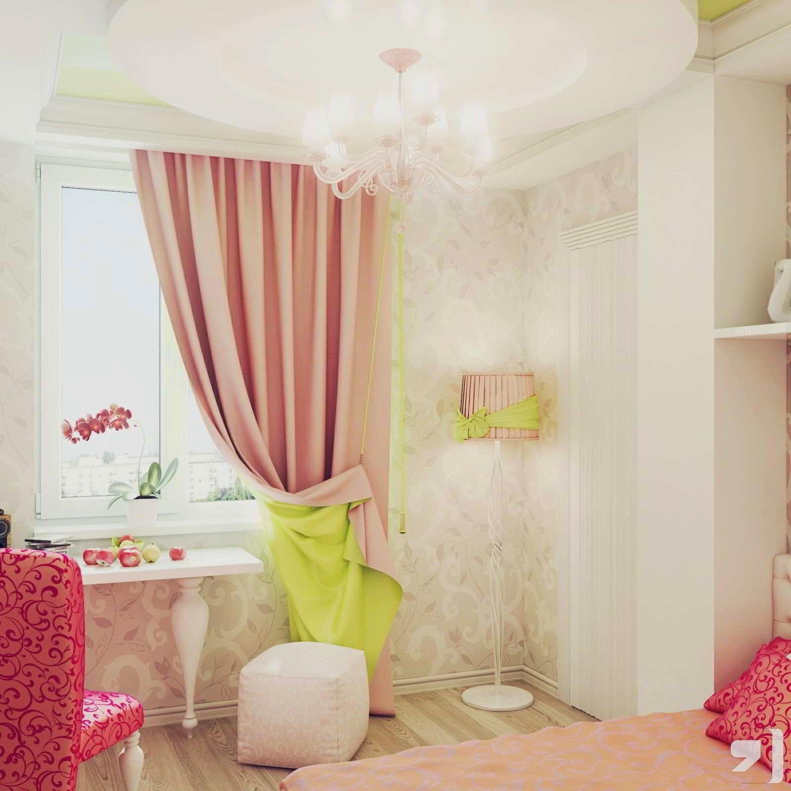 Decoração de quarto de meninas rosa
